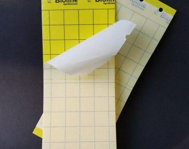 Мониторинговые ловушки сухой клей Желтые 25*10